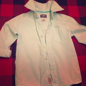 Perfect spring long sleeve button up top